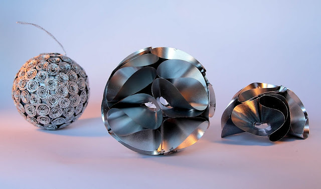 palle decorative alluminio