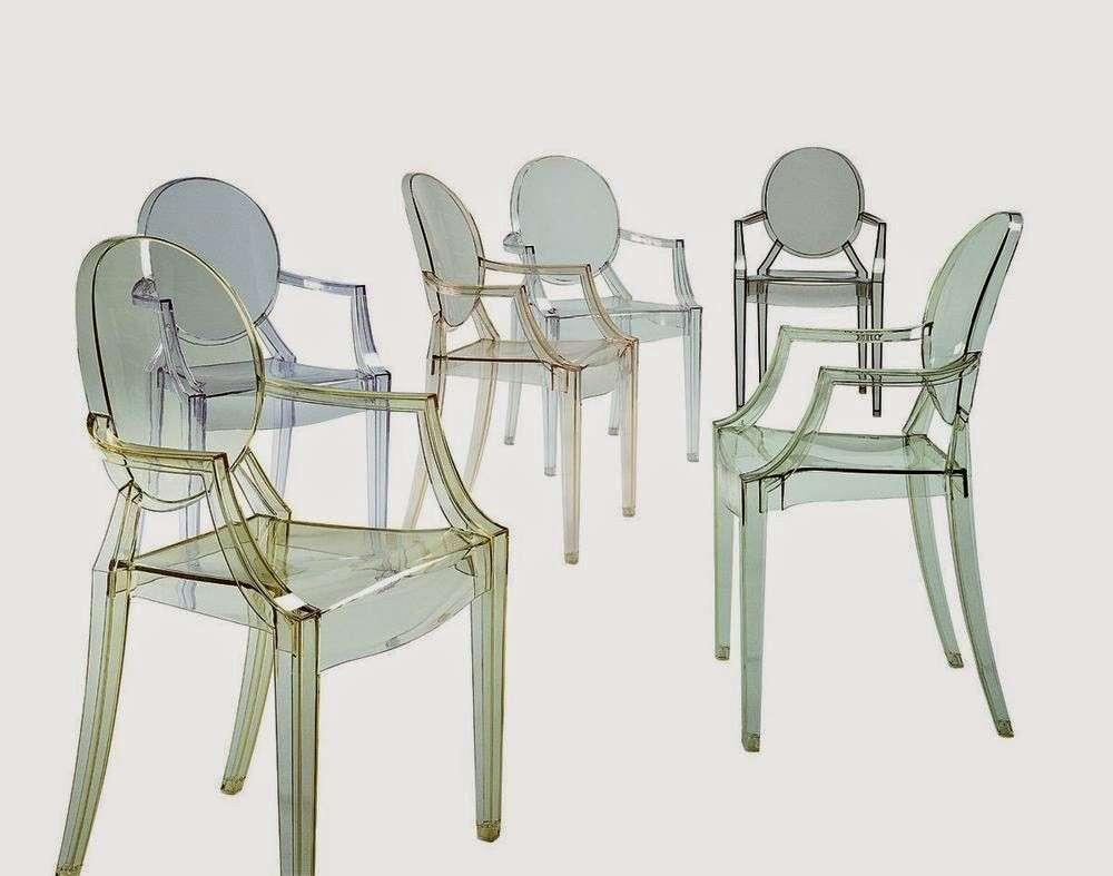 Sedie Plastica Trasparente Colorate.Sedie Trasparenti Tutti Gli Ultimi Modelli Piu Cool Foto Pourfemme