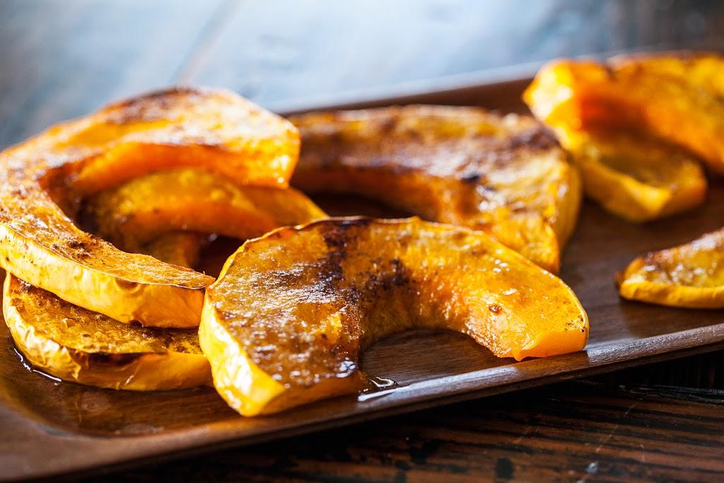 Zucca al forno, ricetta light