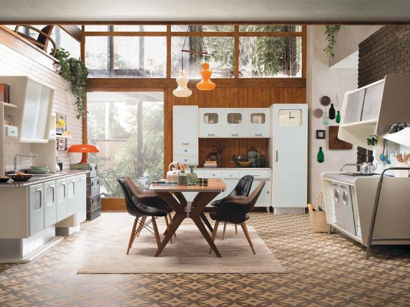 Quale arredamento in stile anni '50 preferisci?
