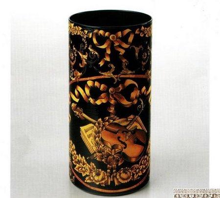 Decoupage vaso di vetro