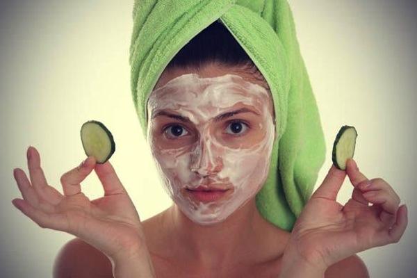 Maschera viso al cetriolo