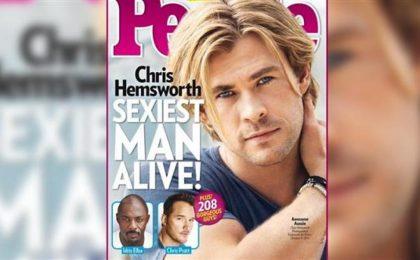 Chris Hemsworth è l'uomo più sensuale del 2014 secondo People [FOTO]