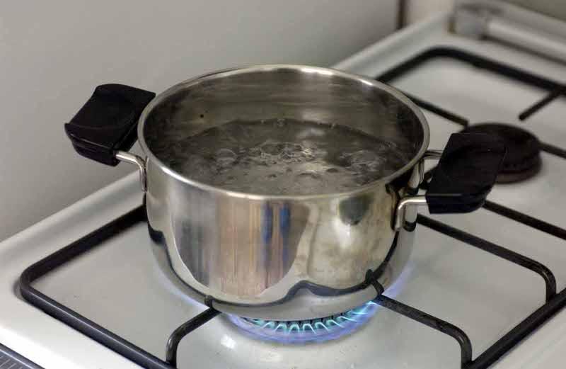 acqua calda