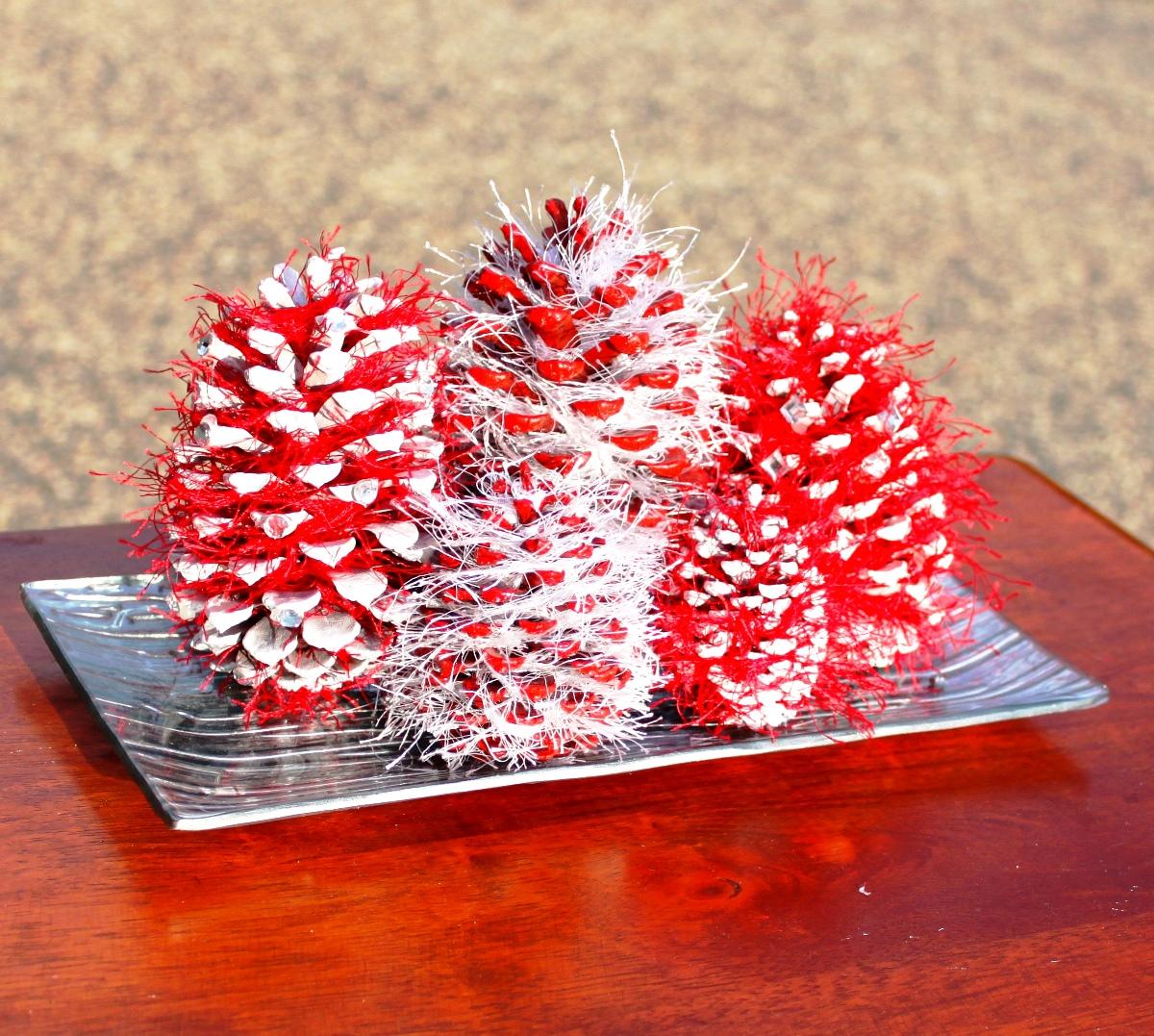 Centrotavola Natalizi Lavoretti.Lavoretti Per Natale Con Le Pigne Quelli Piu Originali Foto