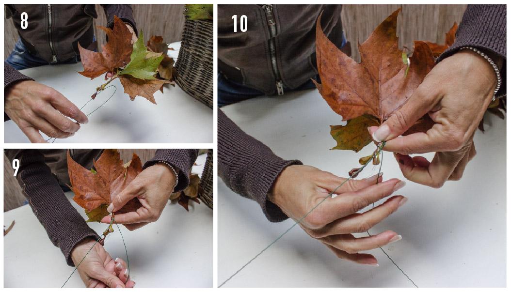 fase1 lavoretti foglie secche