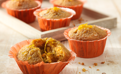 Muffin all'arancia, ricetta light