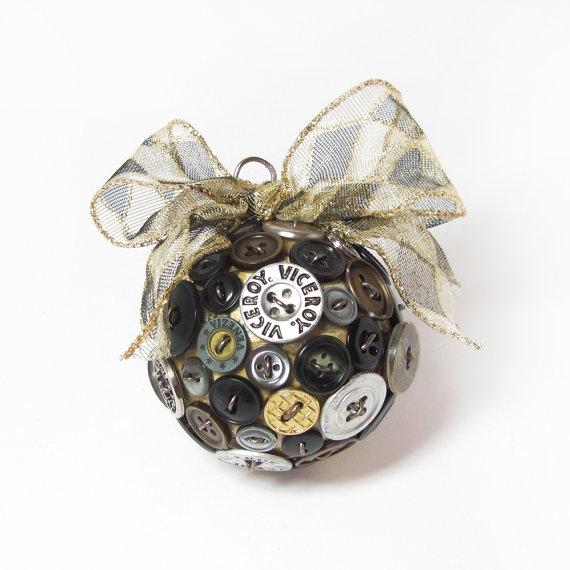 palla bottoni riciclo creativo