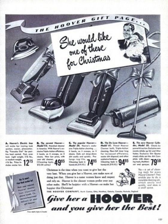 10 vecchie pubblicità sessiste per Natale