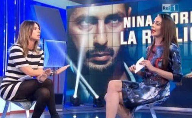 Nina Moric vs Paola Perego, lo scontro a Domenica In