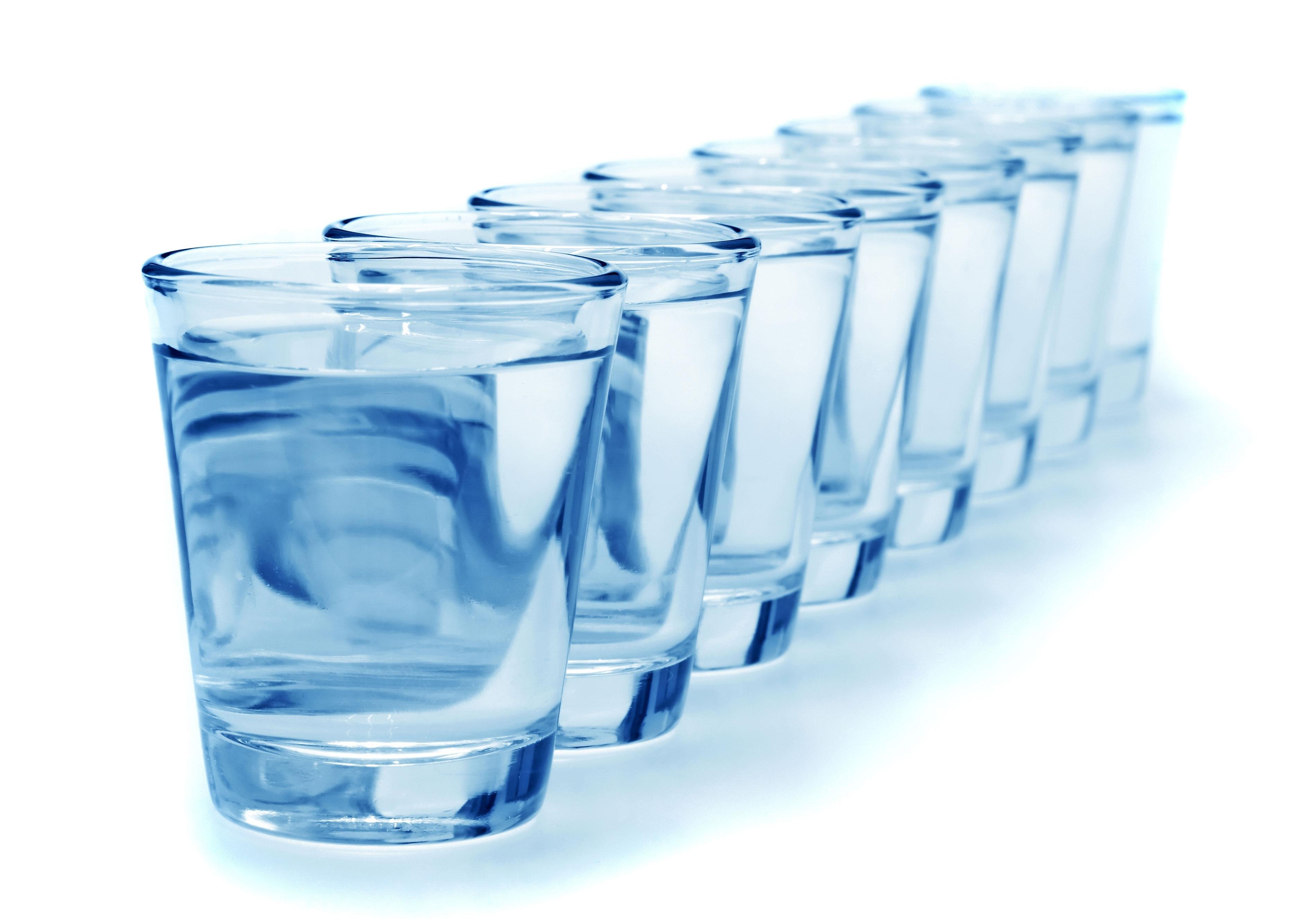 acqua per la dieta