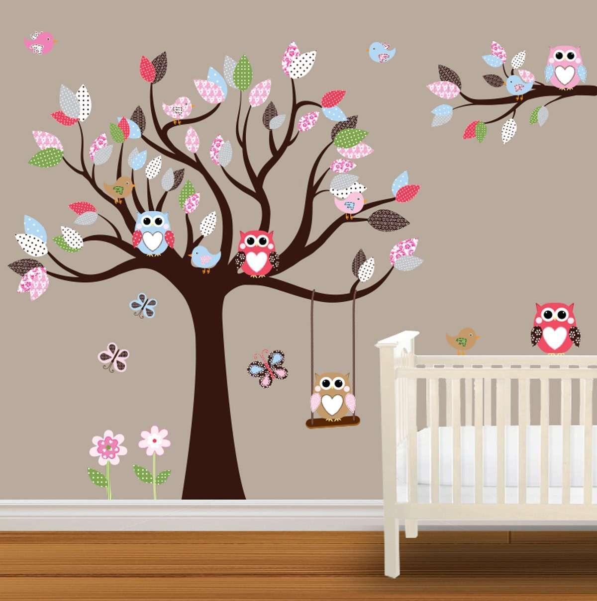 Come decorare le pareti della cameretta foto pourfemme for Decorare una stanza per bambini