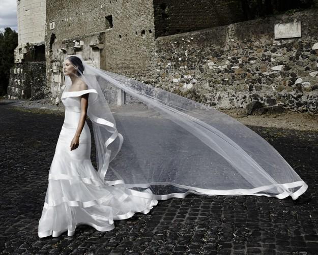 angelozzi_abito da sposa con velo lungo