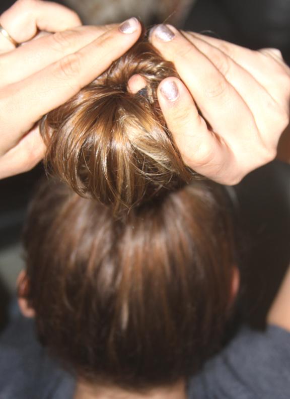 capelli mossi calzino