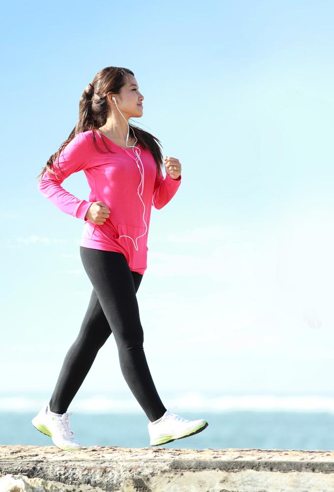 donna fitness camminata