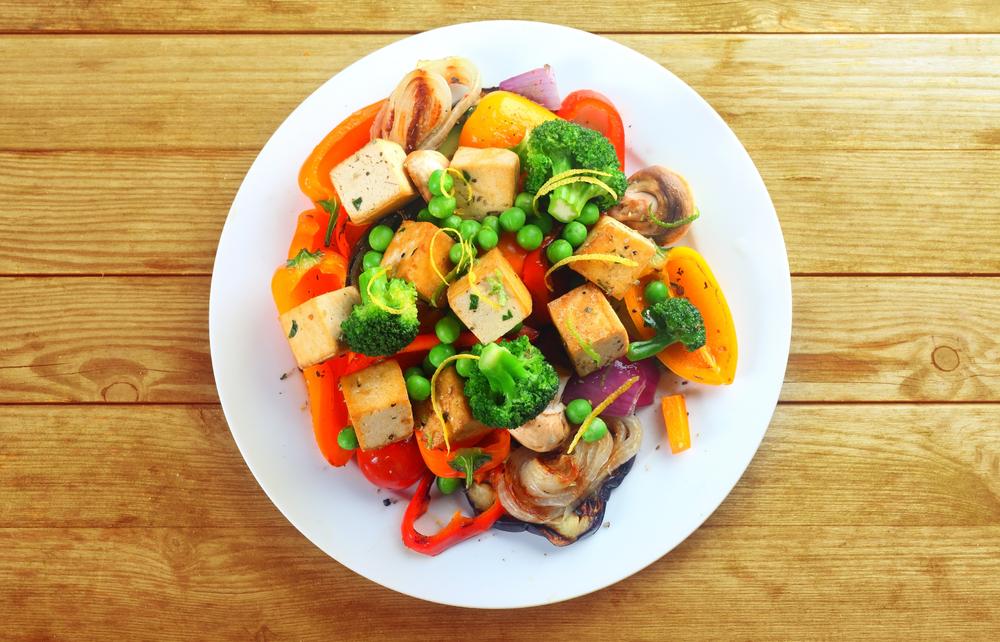 dieta vegana, menu equilibrato