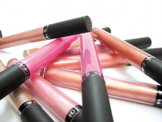 lip gloss di tanti colori