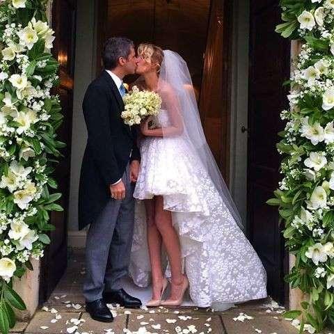 Alessia Marcuzzi si è sposata: il matrimonio con Paolo Calabresi