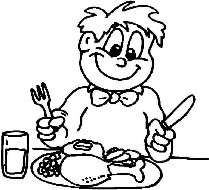 Bambini a tavola immagini da colorare foto pourfemme - Cane che mangia a tavola ...