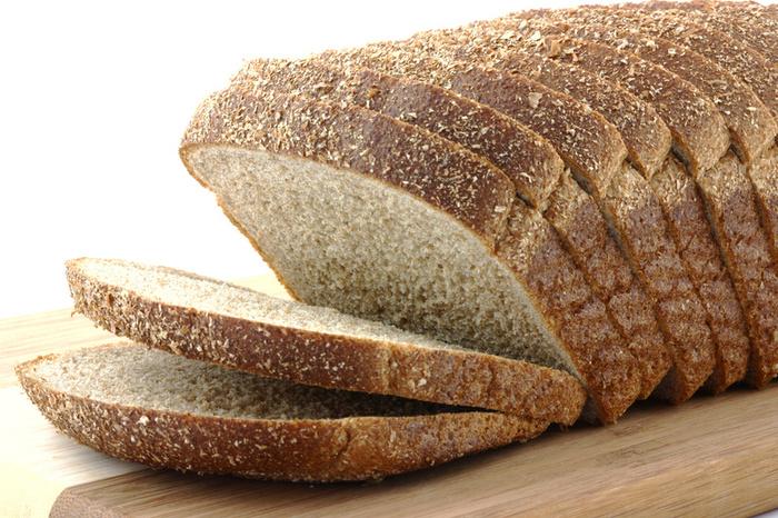 Pane integrale da mangiare