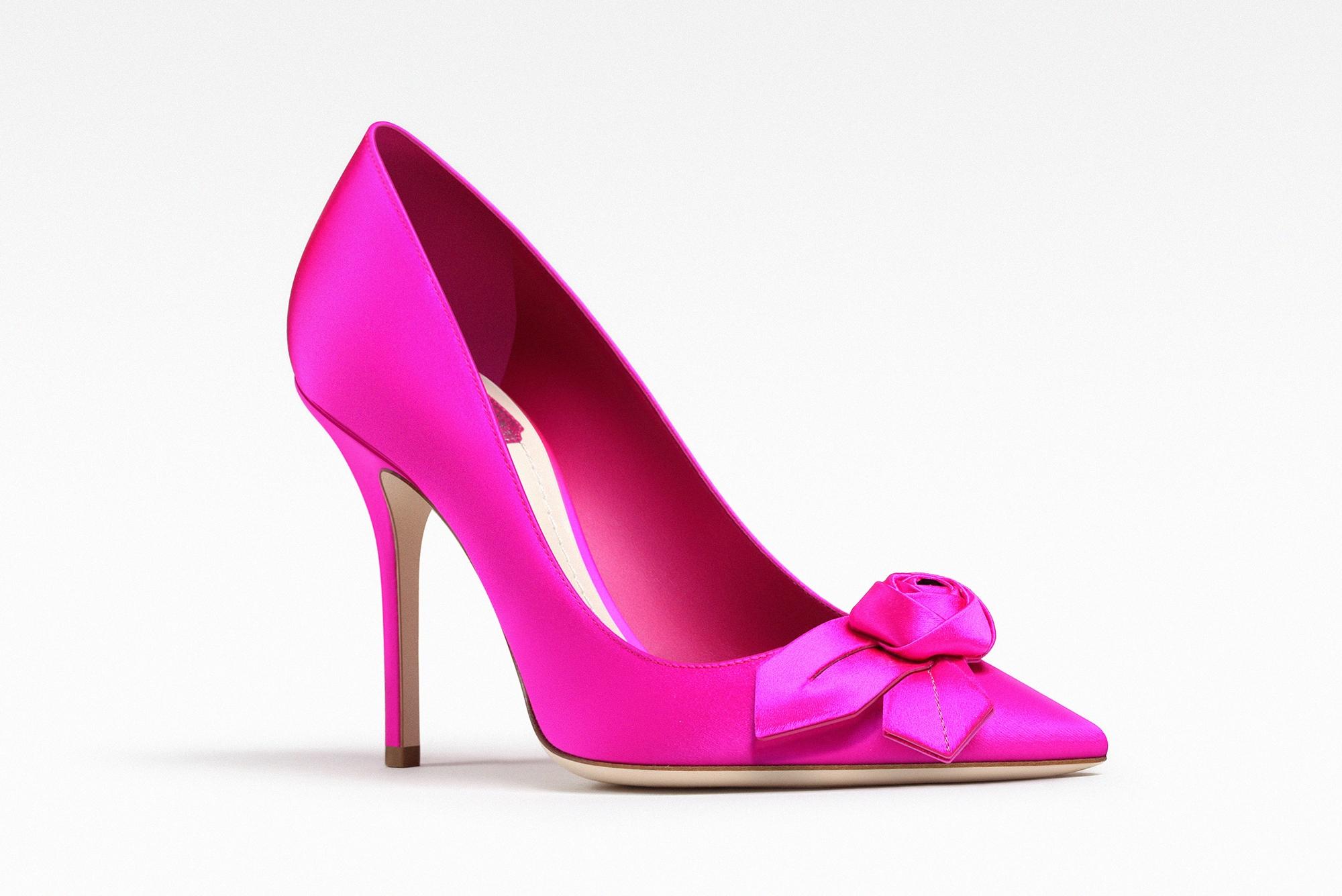 Pumps con fiore Dior