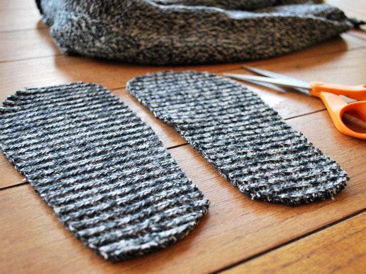 calze vecchi maglioni