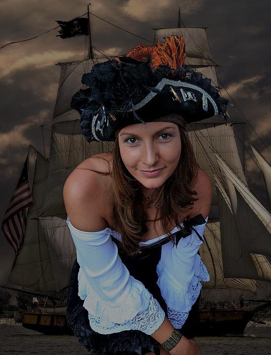 Costume di Carnevale da piratessa