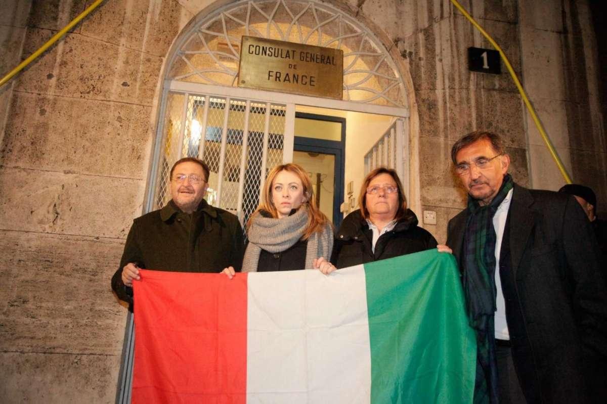 Giorgia Meloni e Ignazio La Russa contro la strage
