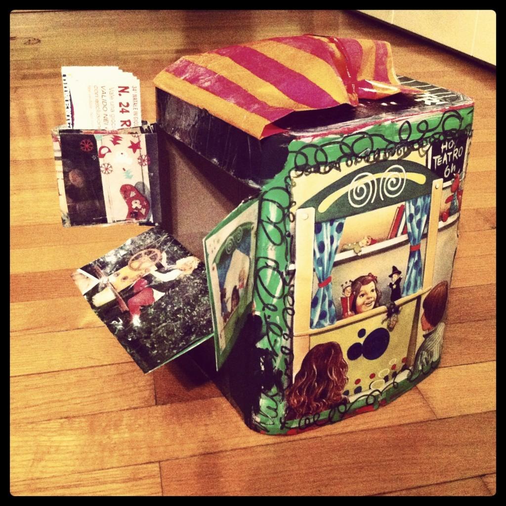 lanterne scatole panettoni