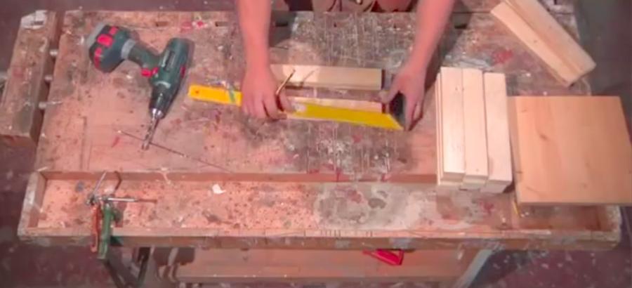 materiali lampada legno
