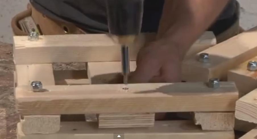 portalampadina legno