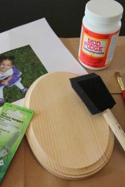 DIY Photo Transfer on Wood Tools