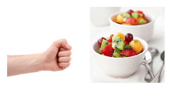 Frutta porzione