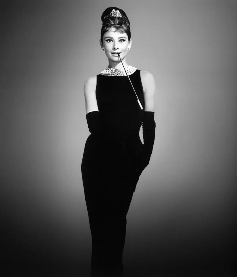 Il tubino nero di Audrey Hepburn in Colazione da Tiffany