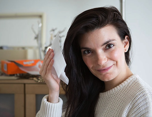 Salviettine asciutte per l'elettrostaticità tra i capelli