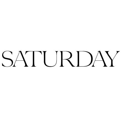 Saturday m