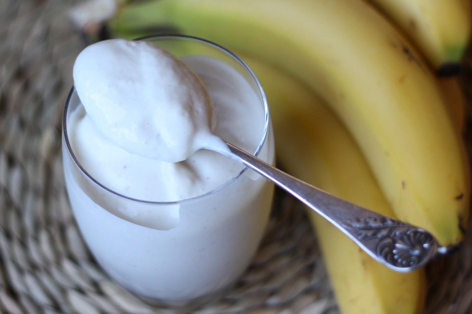Yogurt e banane