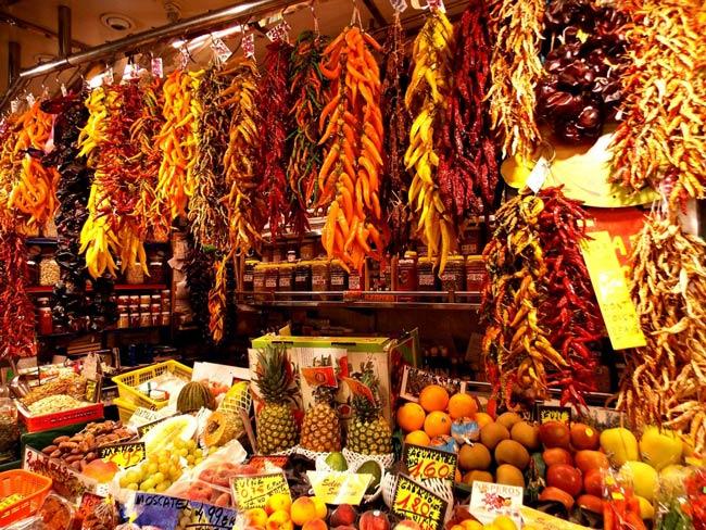boqueria mercato barcellona