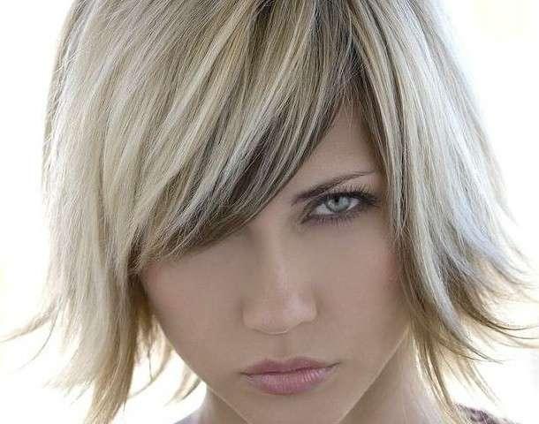 Colpi di sole biondi e grigi – Tagli di capelli popolari 2019 f9e2faadf593