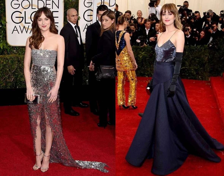 """Dakota Johnson: i look più belli della protagonista di """"50 sfumature di grigio"""""""