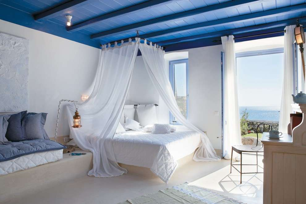 Case Mare Stile Mediterraneo : Come arredare casa in stile mediterraneo foto pourfemme