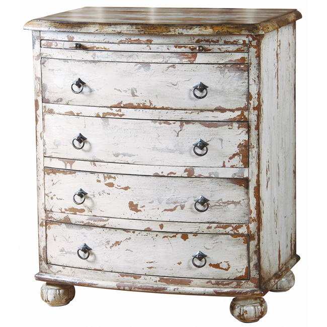 white distressed chest from overstock 1