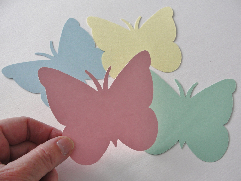 Farfalle Decorative Fai Da Te farfalle di carta fai da te da realizzare con i bambini