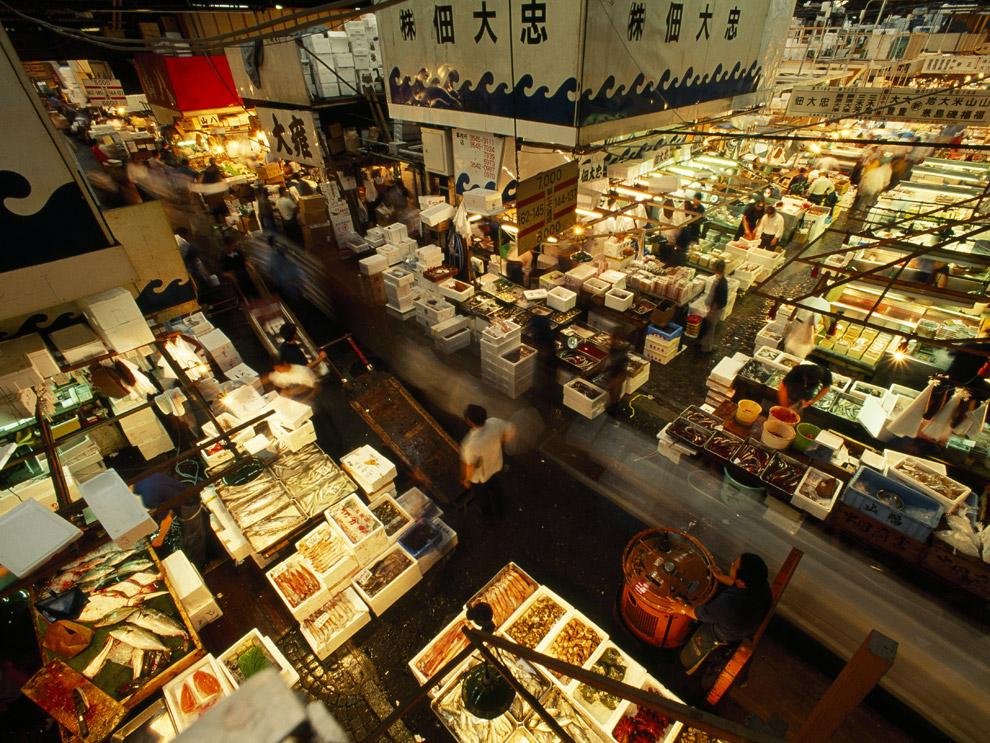 Mercato Pesce Tsukiji