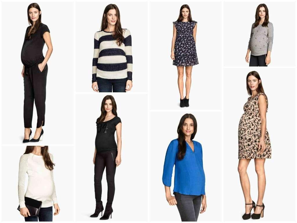 Abbigliamento premaman H&M primavera/estate 2015 [FOTO]