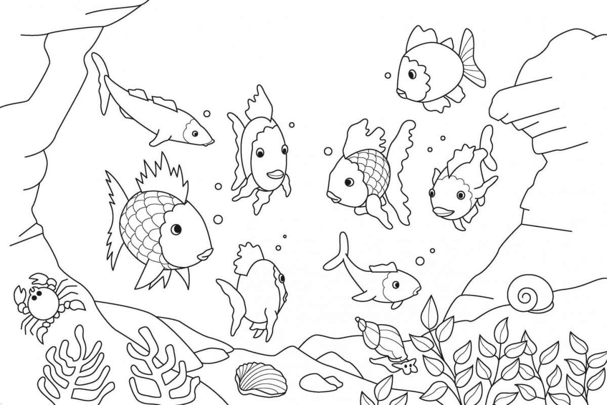 Immagini Belle Da Dipingere disegni per bambini da colorare con il pennello [foto