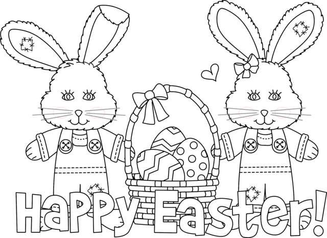 Disegni di Pasqua da stampare e colorare: i più belli [FOTO]