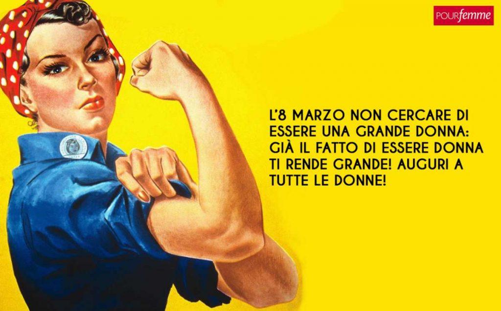 Frasi 8 Marzo Festa Delle Donne.Festa Della Donna Tutte Le Frasi Piu Belle E Divertenti Pourfemme