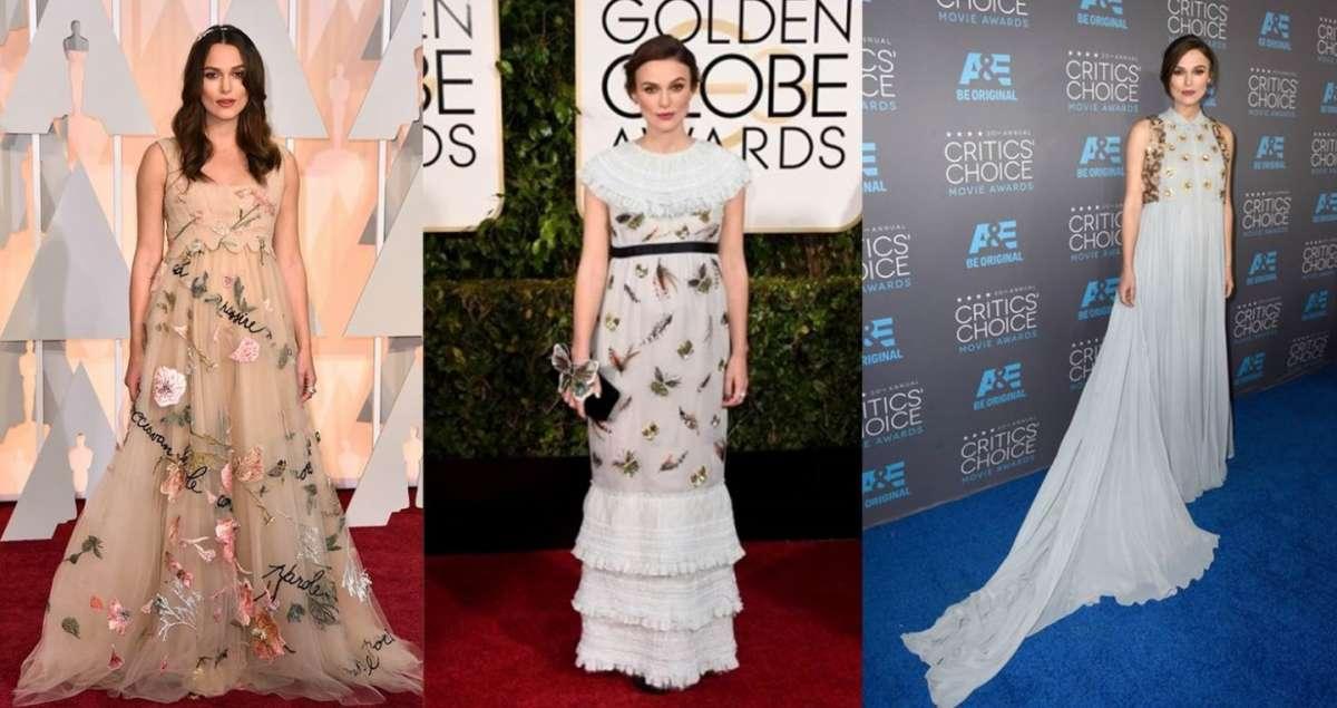 Keira Knightley, i look più fashion dell'attrice [FOTO]