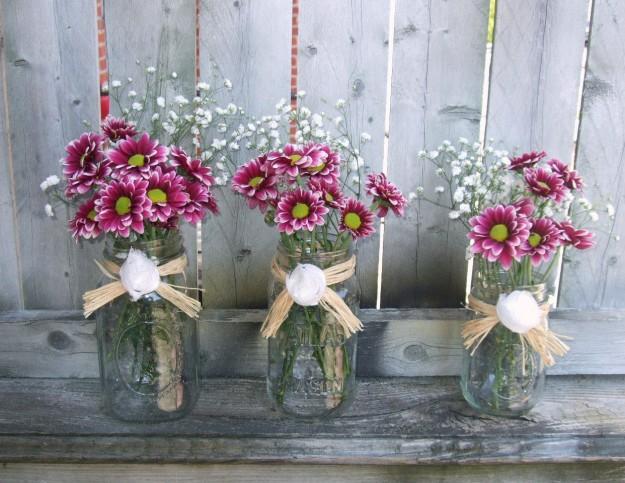 composizioni floreali per il matrimonio fai da te tante